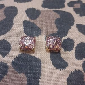 Pink Kate Spade earrings